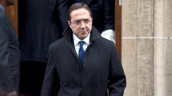 Faouzi Lamdaoui, conseiller à l'Elysée, le 9 mai 2012 à Paris.