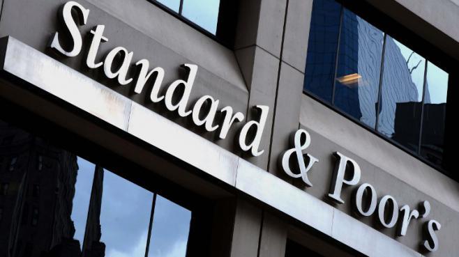 Les bureaux de l'agence Standard & Poor's à New Yorkle 16 octobre 2013.