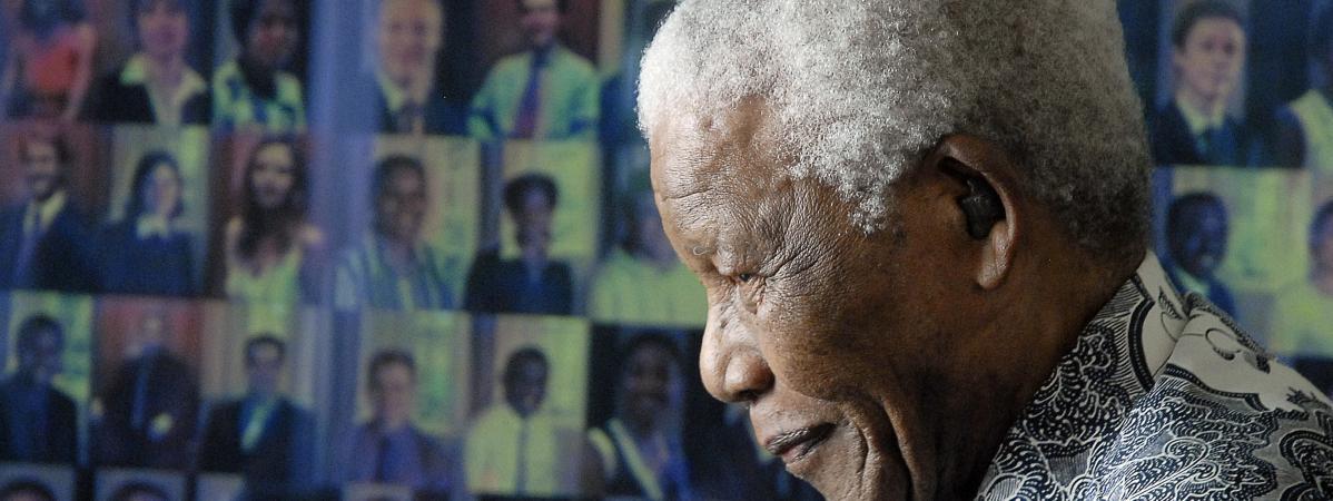Symbole De La Lutte Contre L Apartheid Nelson Mandela Est Mort