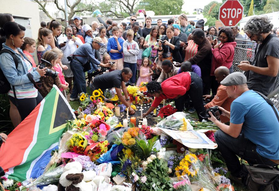 Funérailles de Mandela: la famille