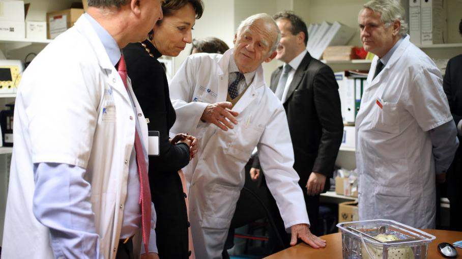 The Minister Marisol Touraine WELLNESS ( AT 2nd left) with the surgeon transplants sp cialist Word By Alain Carpentier, 21 December 2013 RELAXING AT THE ISLAND ho tal European Georges Pompidou in Any Word & , Checkout or Paypal, Paris.