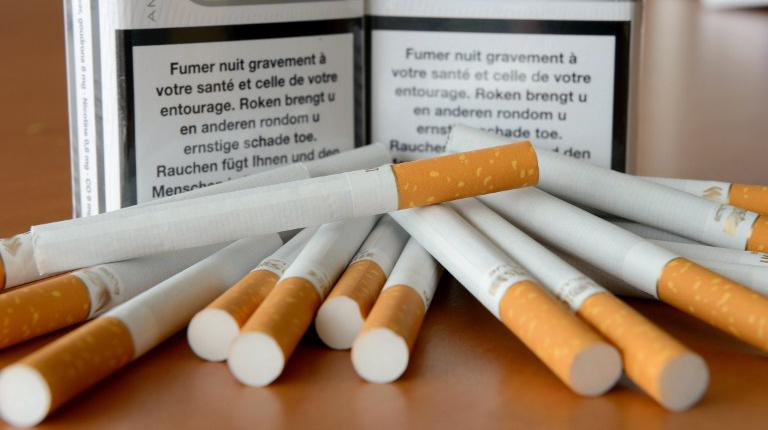 Most expensive cigarettes 555 in Georgia