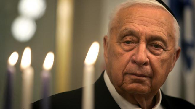 Ariel Sharon, le 27 décembre 2005, à Jérusalem (Israël).