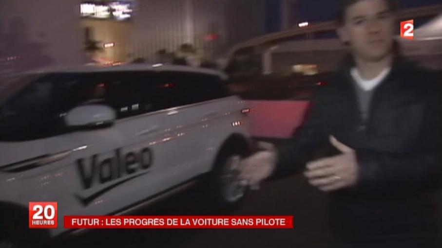 Las vegas voiture sans pilote au salon des nouvelles technologies en replay 7 janvier 2014 - Salon des nouvelles technologies ...
