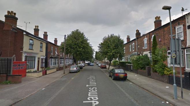 Capture d'écran de la rue James Turner, à Birmingham (Angleterre), dans laquelle se déroule une émission de télé-réalité controversée, dont le premier épisode a été diffusé le 8 janvier 2014.