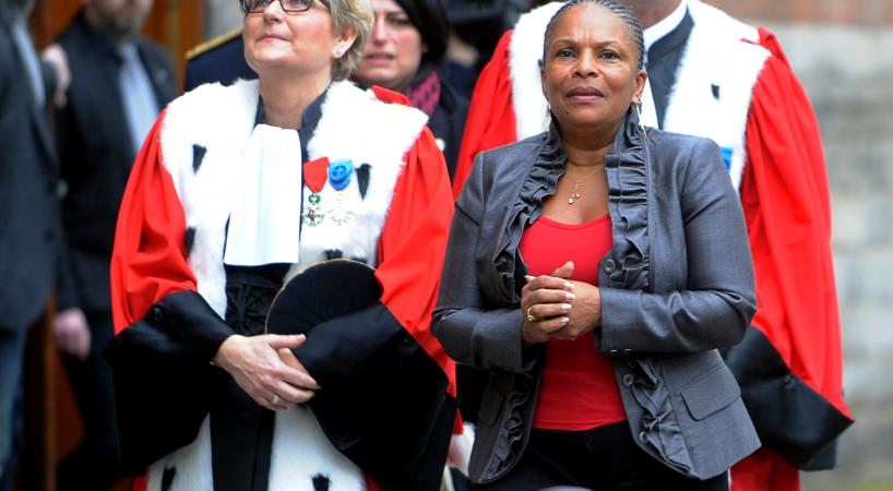 Christiane taubira veut repenser le syst me judiciaire for Christiane nord