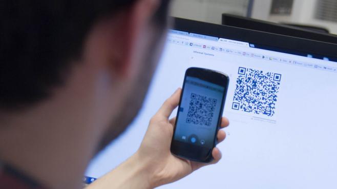 Un paiement en bitcoins sur le site de matériel informatique Achatnet.pro.