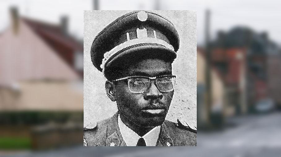 Le colonel Laurent Serubuga (date et lieu inconnus).