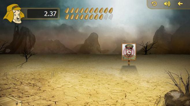 Capture d'écran du jeu chinois qui permet de tirer au revolver sur des prisonniers japonais, mis en ligne jeudi 27 février 2014.