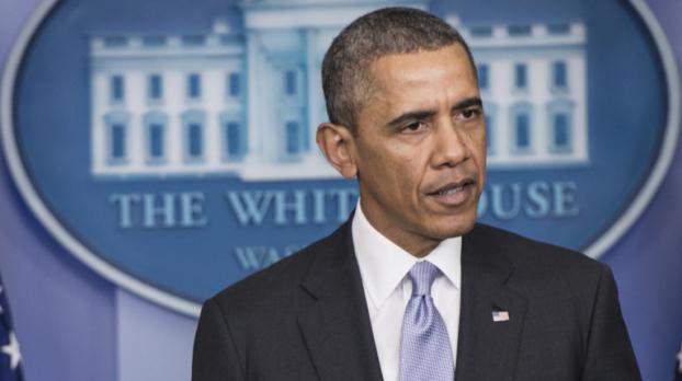 Le président américain Barack Obama lors d'une allocution depuis la Maison blanche, à Washington, sur la situation en Ukraine, le 28 février 2014.