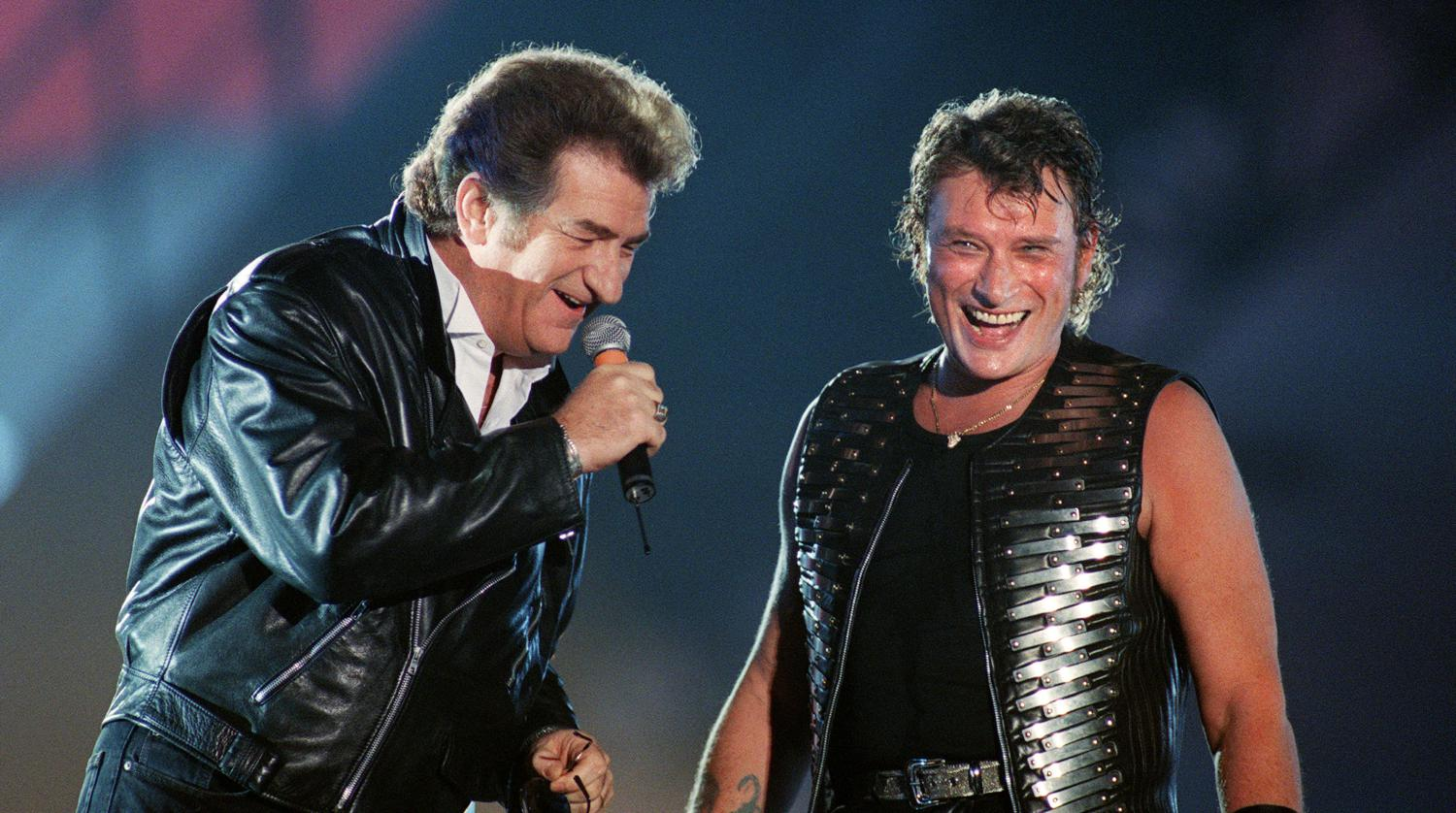 Johnny Hallyday Eddy Mitchell Et Jacques Dutronc R 233 Unis