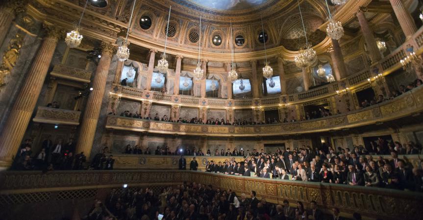 Château de Versailles : l'opéra royal, temple dédié aux arts