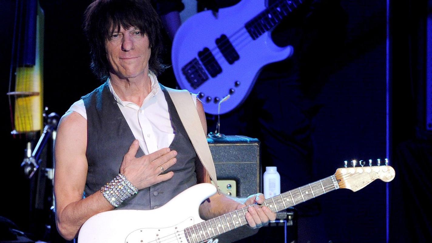 Le guitariste Jeff Beck en ouverture de la 37e édition de ...