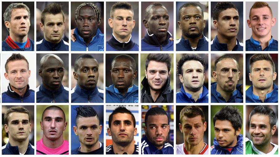 Entre joie et d ception les joueurs r agissent liste de didier deschamps - Classement equipe de france coupe du monde 2014 ...