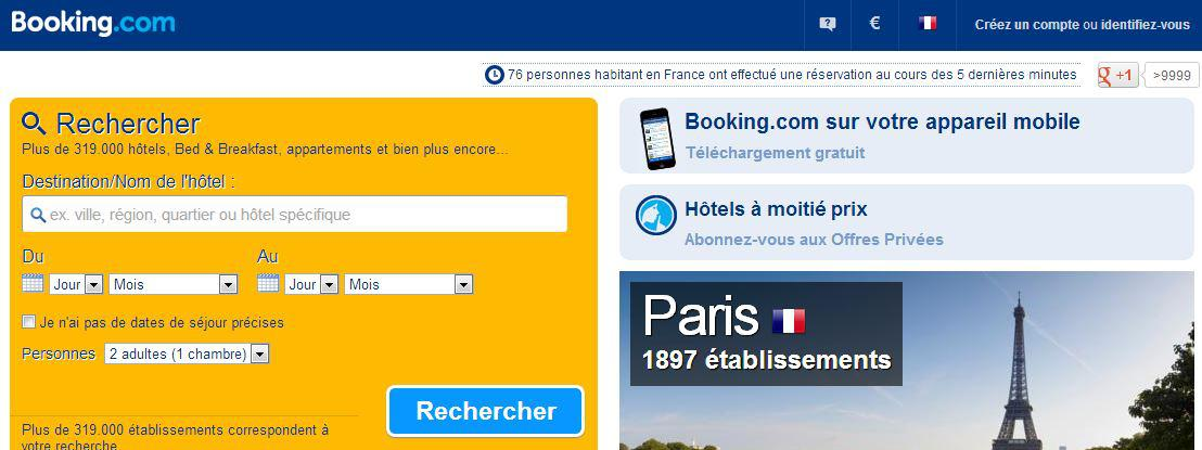 Les h teliers s 39 attaquent aux sites de r servation en ligne for Site de reservation