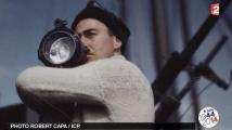 VIDEO. La seconde guerre mondiale en couleurs, vue par le photographe Robert Capa