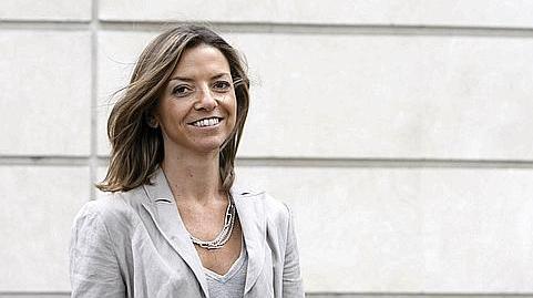 Laurence Boone, à Paris, le 13 août 2008. Elle a été nommée conseillère économie de François Hollande, mardi 10 juin 2014.