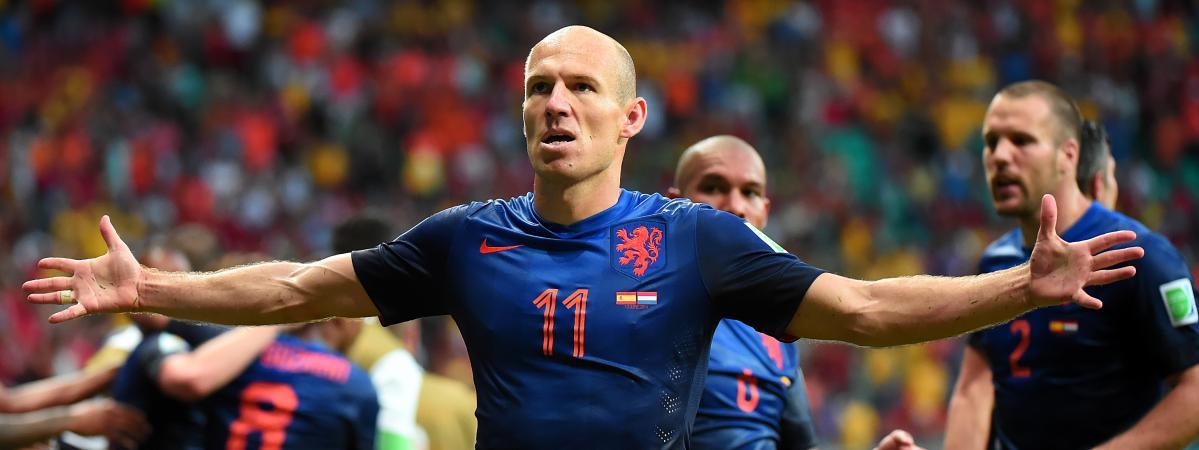 Coupe du monde les pays bas en d monstration face l 39 espagne - Poule coupe du monde foot ...
