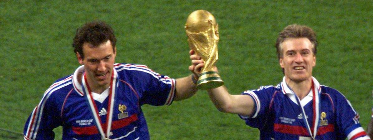 Coupe du monde en 1998 j 39 ai dormi avec la coupe raconte deschamps - Coupe du monde foot 1998 ...