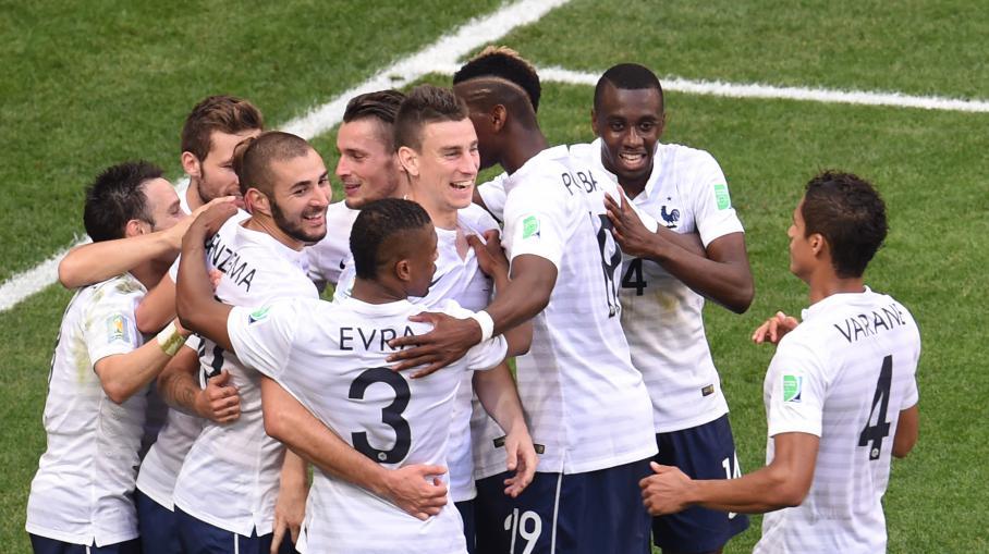 Coupe du monde le match france nigeria r sum en 11 gifs - Jeux de foot match coupe du monde ...