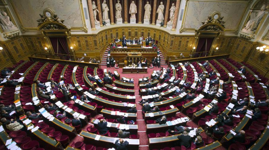 Les sénateurs au Palais du Luxembourg, à Paris, le 13 novembre 2012.