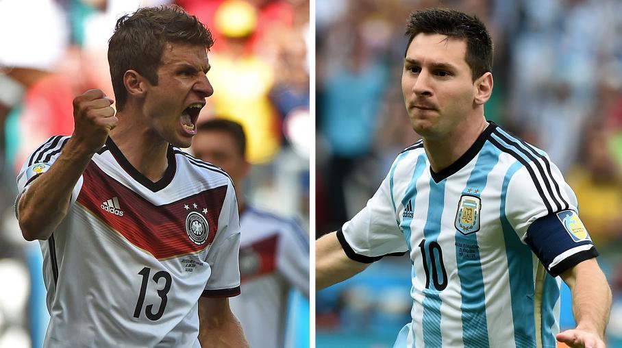 Coupe du monde de l 39 allemagne ou de l 39 argentine qui va - Finale coupe du monde foot ...