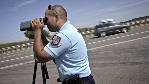 video les controles routiers renforces pour le retour des vacances