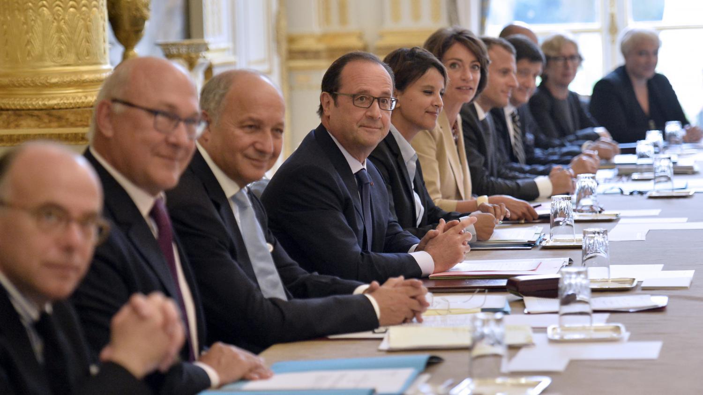 Direct hollande exhorte ses ministres la coh sion for Ministre de france
