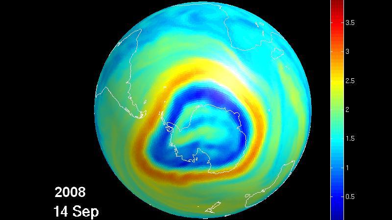 Environnement le trou de la couche d 39 ozone se r sorbe - Trou de la couche d ozone ...