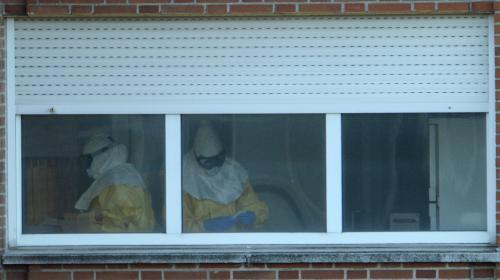 ebola l 39 infirmiere contaminee en espagne n 39 a plus le virus