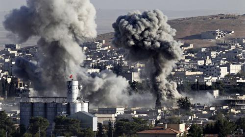 syrie l 39 armee americaine largue des armes aux kurdes a kobani