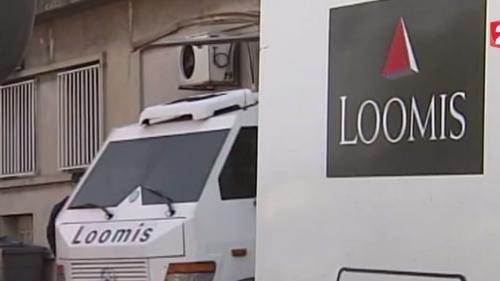 video une employee de loomis prend la fuite avec 256 000 euros