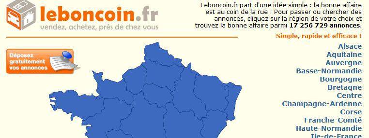 le bon coin ferait perdre 312 millions d 39 euros de recettes l 39 etat. Black Bedroom Furniture Sets. Home Design Ideas