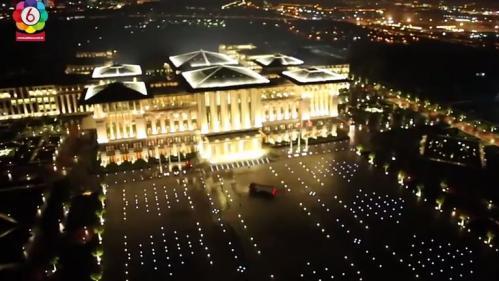 VIDEO. En Turquie, Erdogan dévoile son nouveau palais à 350 millions de dollars