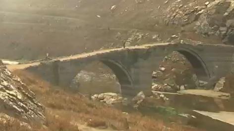 video visite du barrage de sarrans et de son village englouti