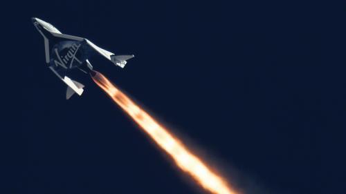 le vaisseau spatial commercial spaceshiptwo s 39 ecrase dans le desert californien