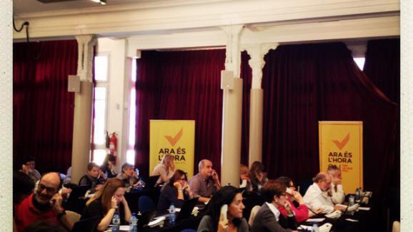 Une plateforme d'appels pour inciter les Catalans à voter a été mise en place vendredi.