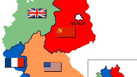 Carte Occupation Allemagne 1945.Apres Guerre Expulses De Leurs Pays Natals Parce Qu Allemands