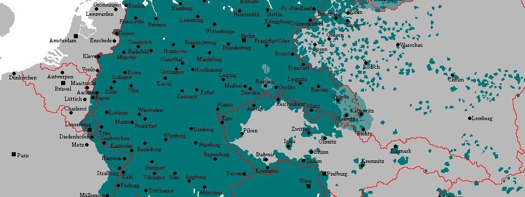 Carte Occupation Allemande Europe.Apres Guerre Expulses De Leurs Pays Natals Parce Qu Allemands