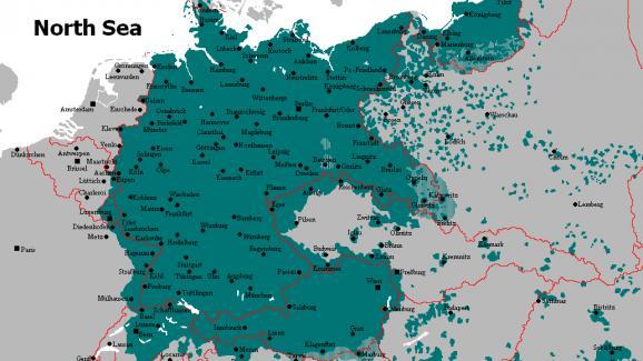 Carte Allemagne Apres Guerre.Apres Guerre Expulses De Leurs Pays Natals Parce Qu Allemands