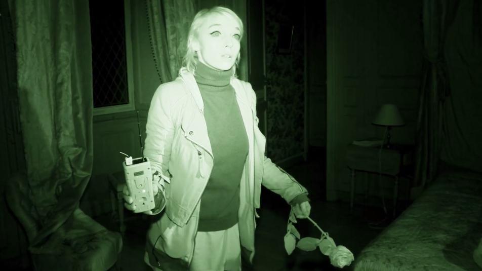 """Capture d'écran de l'épisode 2 de la première saison de """"The Believers"""", une série documentaire coréalisée parSandy Lakdar, ici au château de Puymartin (Dordogne)."""