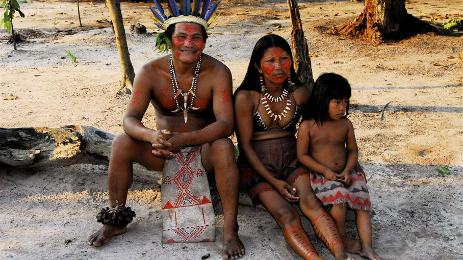 Rencontre chamanique de la france a l'amazonie