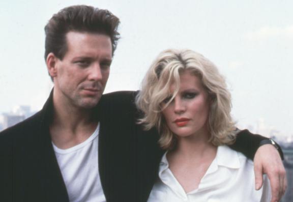 Mickey Rourke et Kim Basinger sur le tournage de