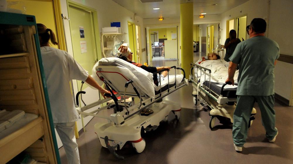 Les urgences de l'hôpital Nord de Marseille, le 30 août 2012.