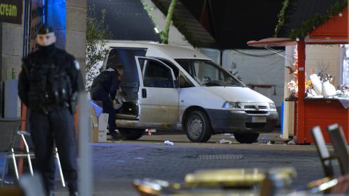 VIDEO. Une camionnette blesse dix passants à Nantes