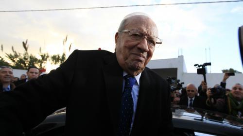 VIDEO. Béji Caïd Essebsi remporte l'élection libre en Tunisie