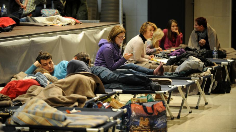 direct neige 15 000 personnes ont pass la nuit dans des centres d 39 urgence en savoie. Black Bedroom Furniture Sets. Home Design Ideas