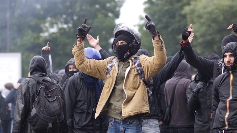 LeService central de renseignement territorial est chargé de surveillerles mouvements de protestation violents.