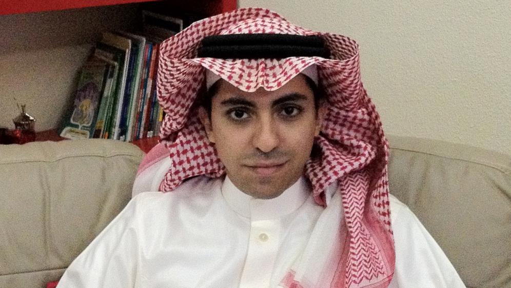 Le blogueur saoudien Raif Badawi, photographié en 2012.