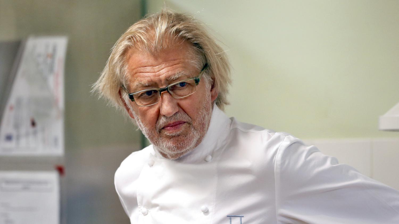 Gastronomie rencontre avec pierre gagnaire sacr for Cuisinier 3 etoiles legumes